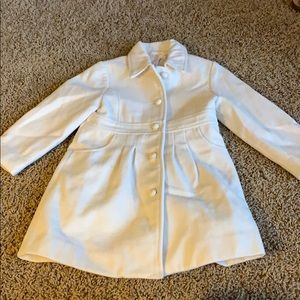 Janie and Jack button up coat// 2-4T// never worn